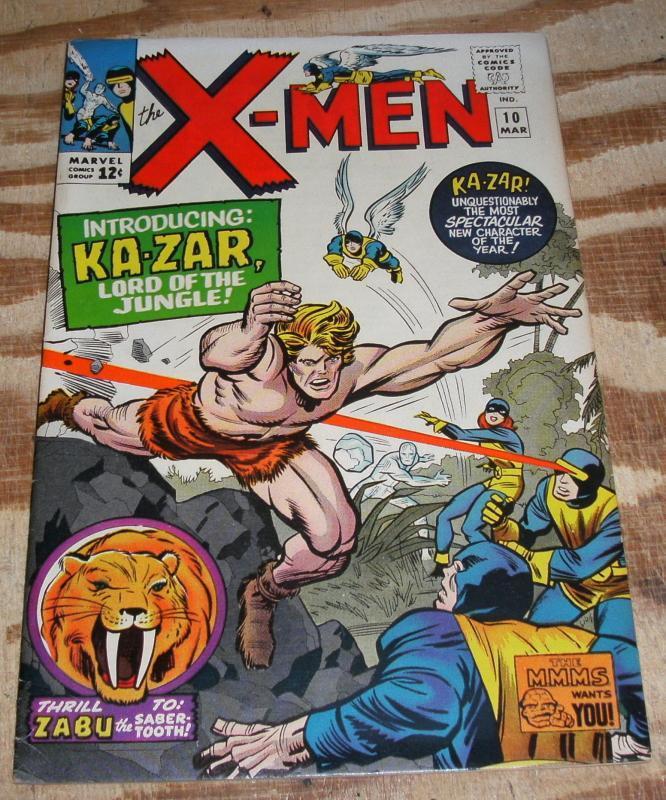Uncanny X-Men #10 vf 8.0