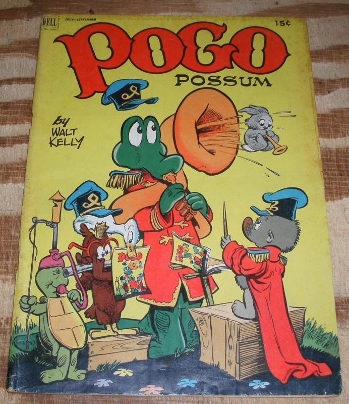 Pogo Possum #10 comic book vg+ 4.5