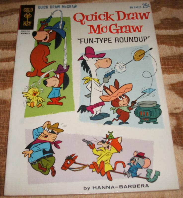 Quick Draw McGraw #12  vf 8.0