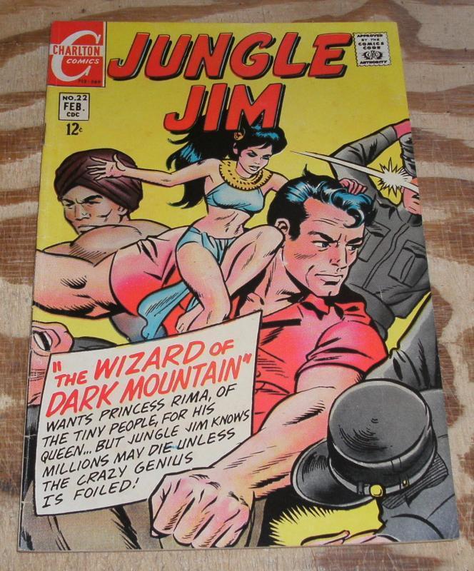 Jungle Jim #22 fn/vf 7.0