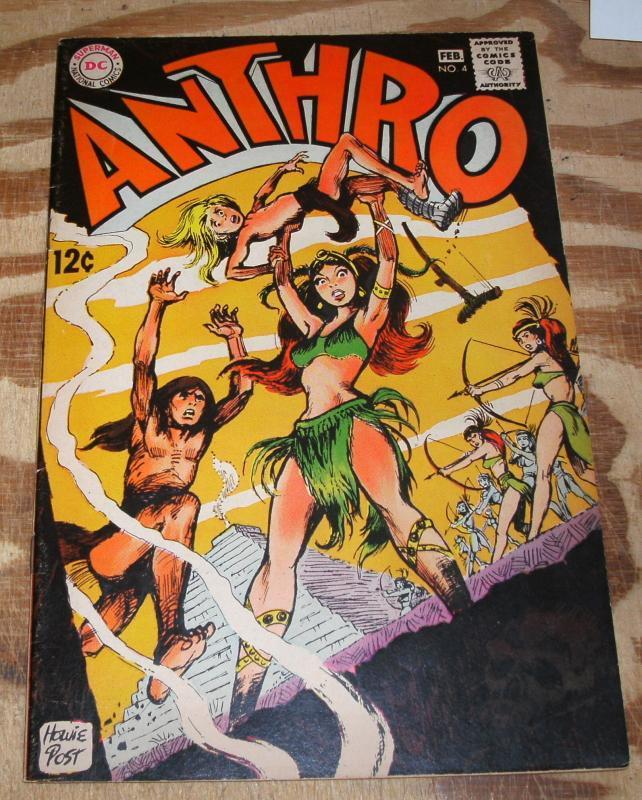Anthro #4  comic book very fine 8.0