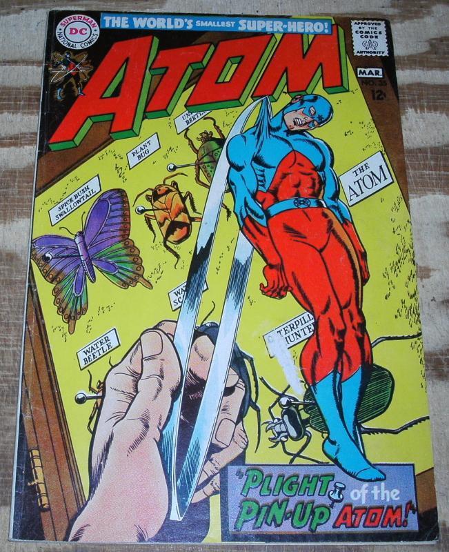 Atom #35  fine 6.0