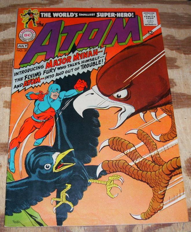 Atom #37 fine/very fine 7.0