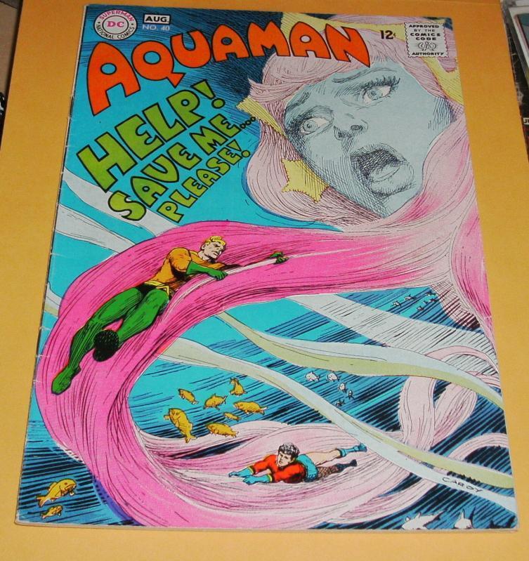 Aquaman #40 fine + 6.5