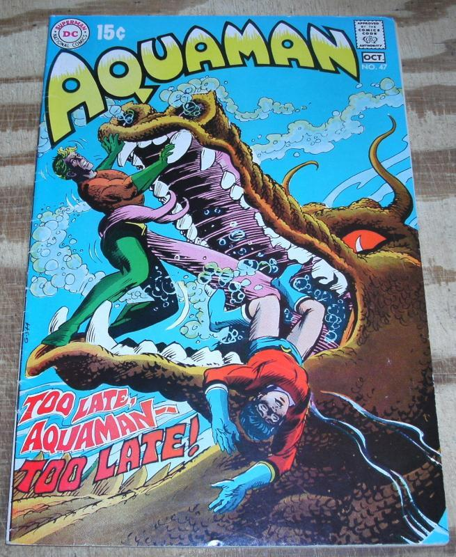 Aquaman #47 fine/very fine 7.0