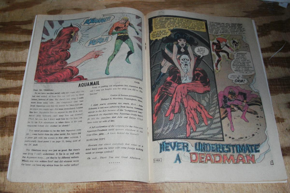 Aquaman #52 comic book very good 4.0
