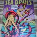 Sea Devils #18  vg/fn 5.0