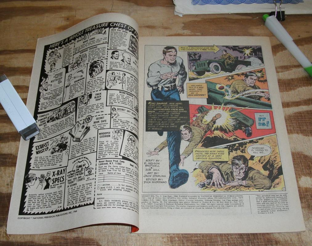 Secret Six #3 comic book very fine 8.0