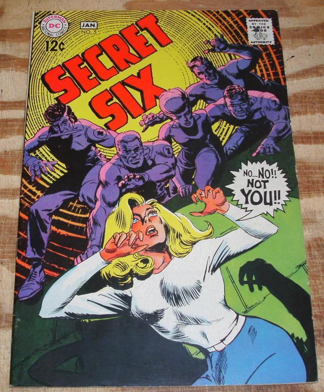 Secret Six #5 very fine 8.0