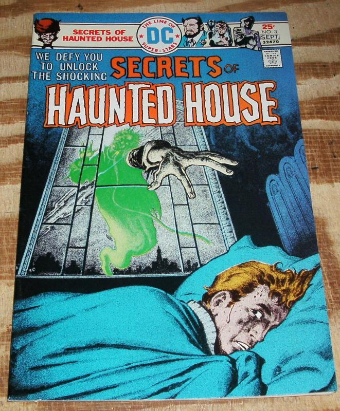 Secrets of Haunted House #3 comic book very fine/near mint 9.0