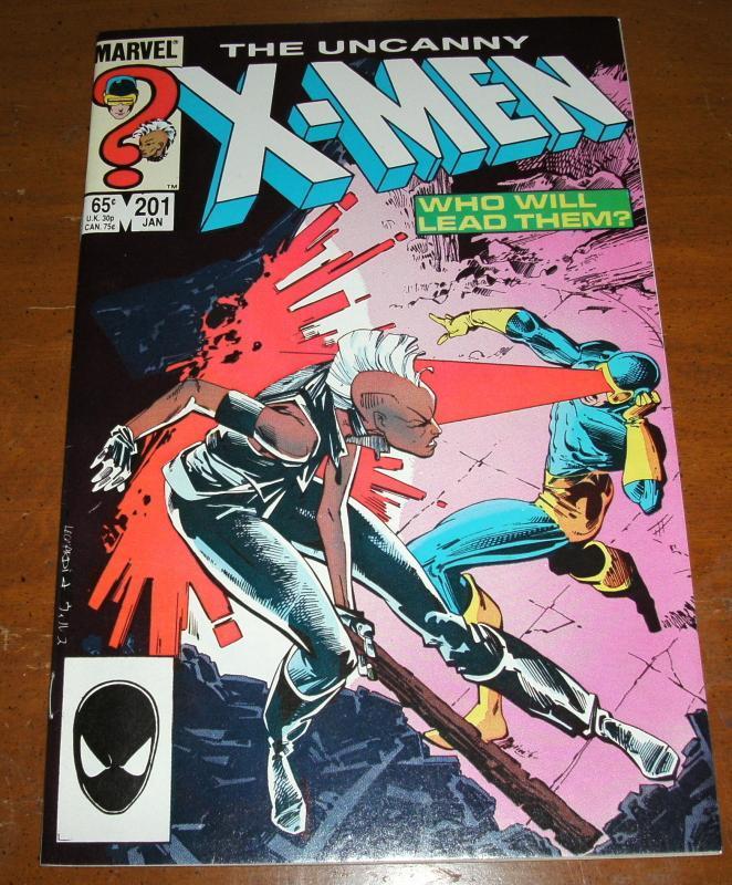 The Uncanny X-men #201 near mint 9.4