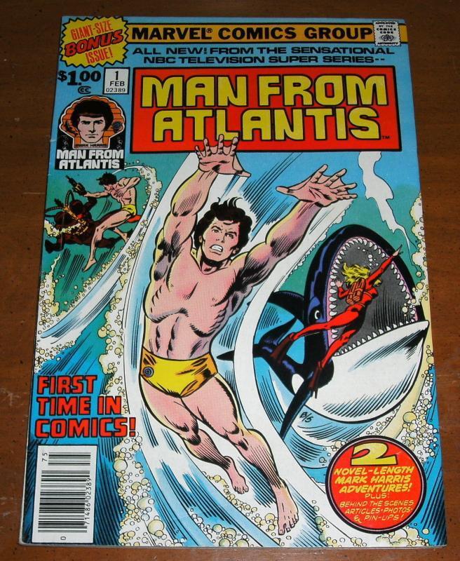 Man From Atlantis #1 near mint + 9.6