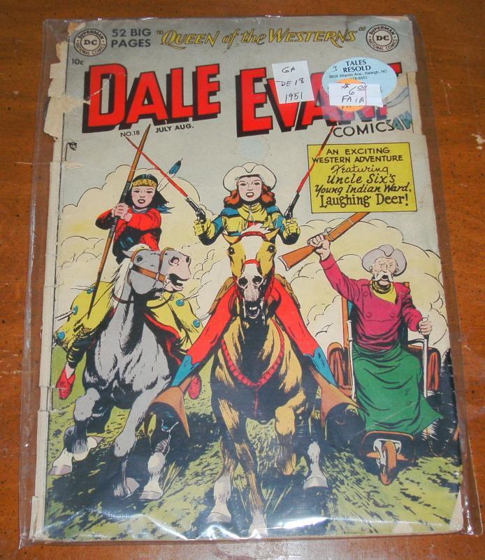 Dale Evans #18 comic book fair 1.0