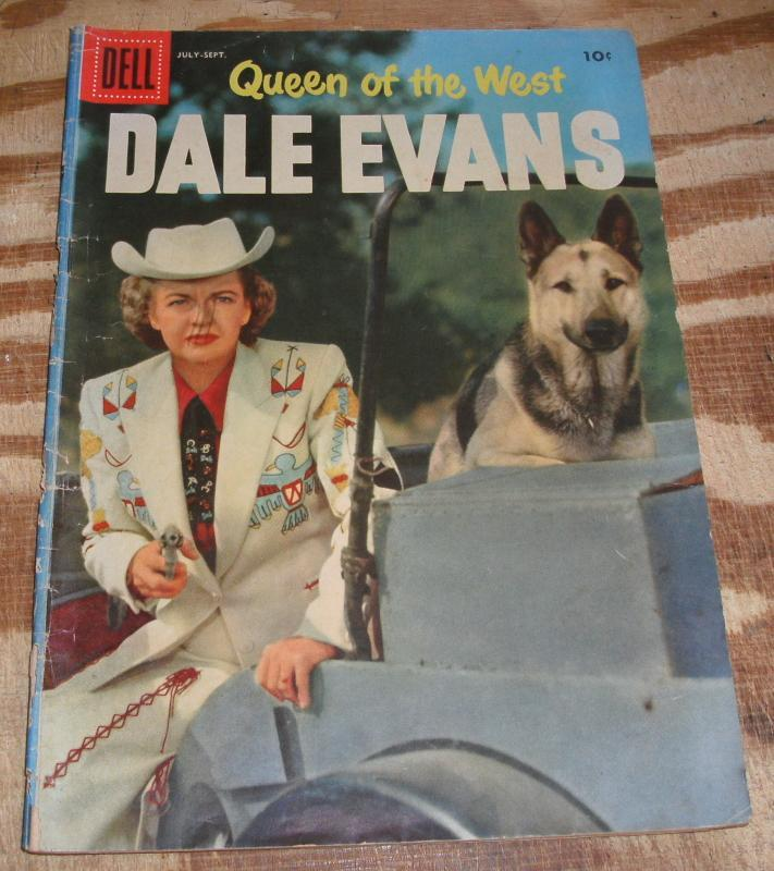 Queen of the West Dale Evans #12  comic book g/vg 3.0