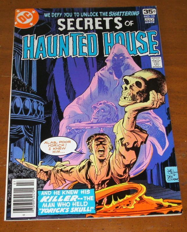 Secrets of Haunted House #12 near mint 9.4