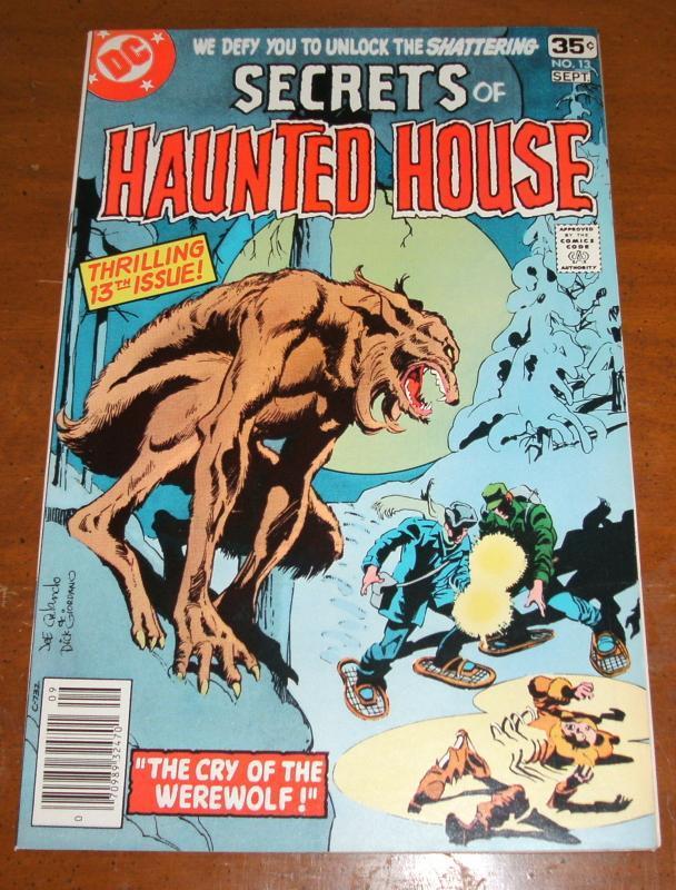 Secrets of Haunted House #13  near mint 9.4