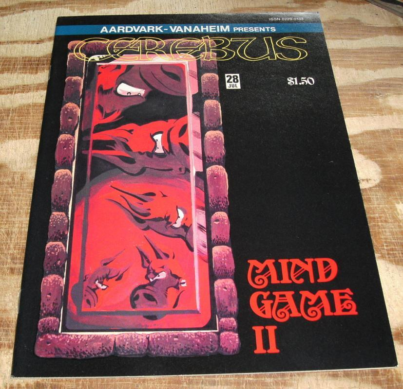 Cerebus #28 comic book near mint 9.4