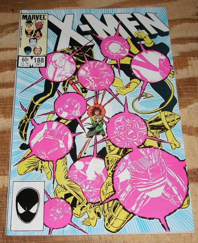 The Uncanny X-men #188 mint 9.8