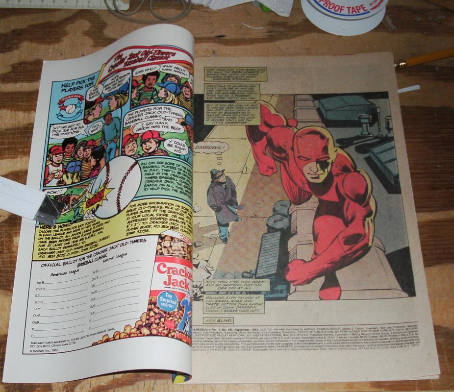 Daredevil #186 near mint 9.4