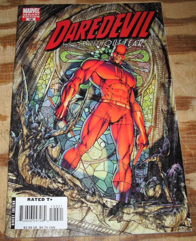 Daredevil 100 variant cover nm+