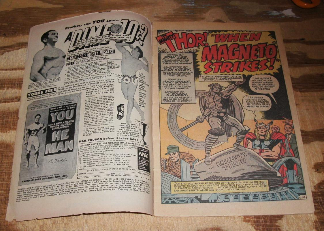 Journey Into Mystery #109 comic book vg 4.0