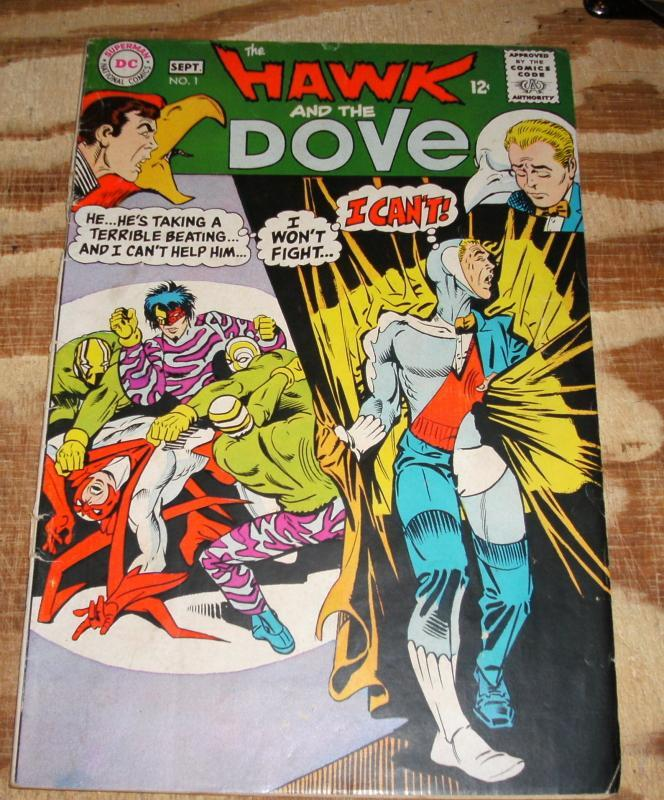Hawk and the Dove #1 fine 6.0