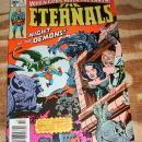 The Eternals #4 very fine plus 8.5