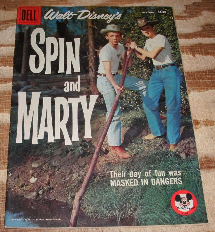 Spin and Marty #7 comic book fn/vf 7.0