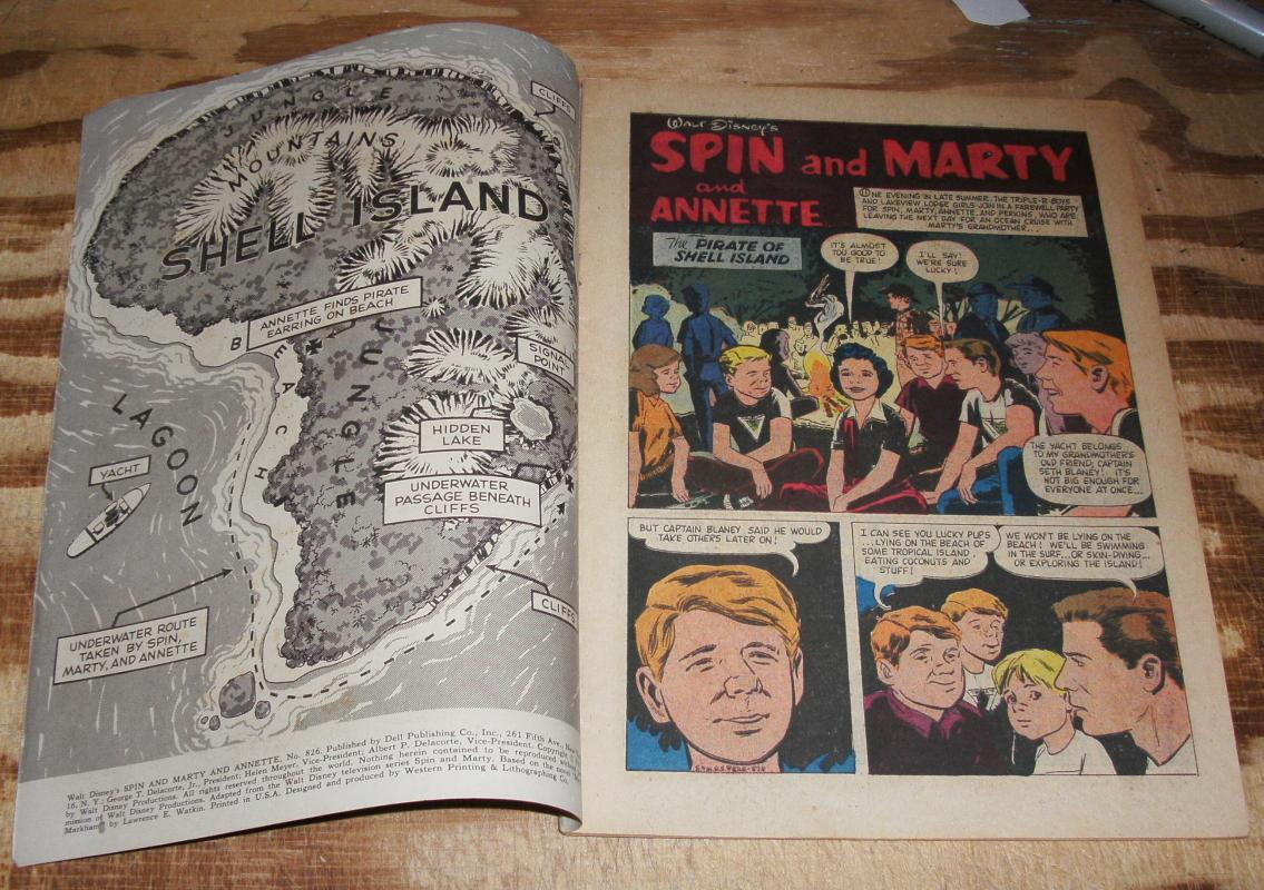 Spin and Marty #826 vg/fn 5.0