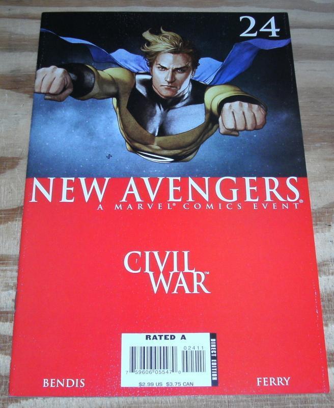 New Avengers #24 nm/m 9.8