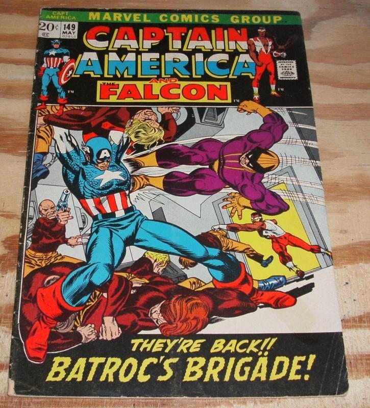 Captain America #149 vg/fn 5.0