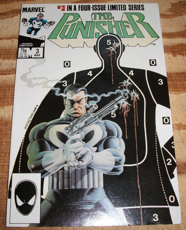 The Punisher #3 (mini series)  near mint 9.4