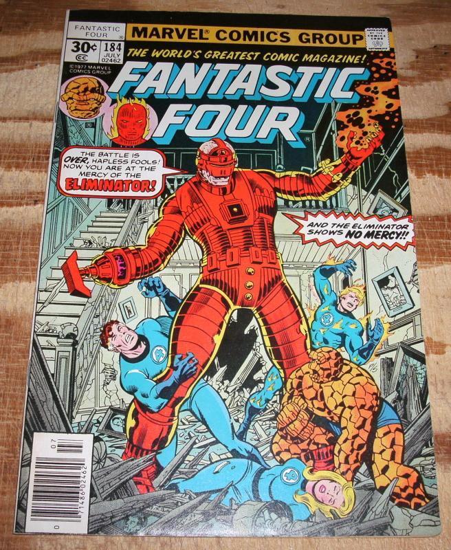 Fantastic Four #184 vf/nm 9.0