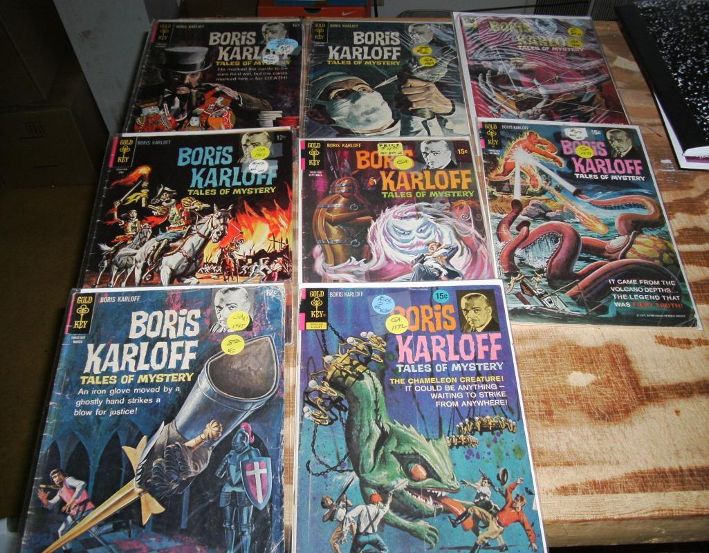 Boris Karloff Tales of Mystery collection