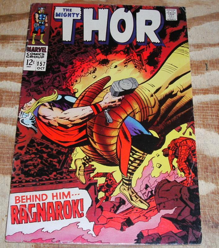 The Mighty Thor #157  very good/fine 5.0
