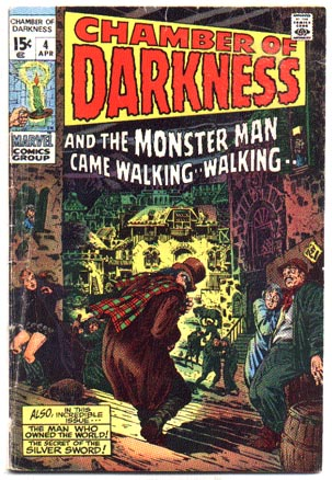 Chamber of Darkness #4 comic book vg 4.0