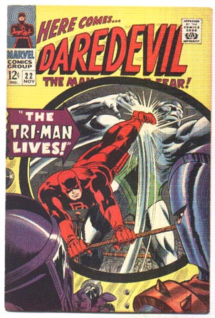 Daredevil #22 comic book fn/vf 7.0