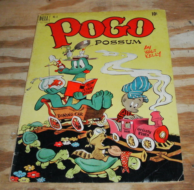 Pogo Possum #6 comic book vg 4.0