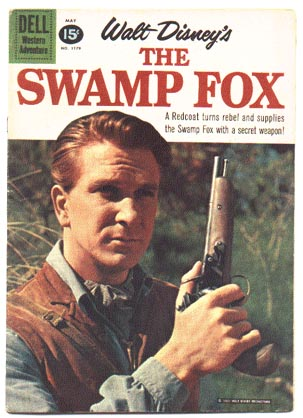 Swamp Fox #1179 comic book fn 6.0
