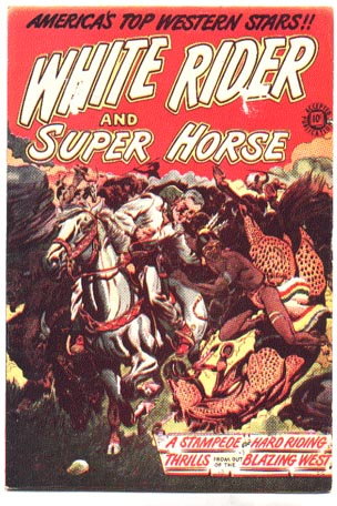 White Rider and Super Horse #5 comic book vg/fn 5.0