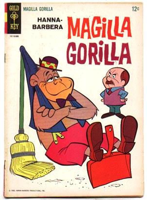 Magilla Gorilla #5 comic book fn+ 6.5