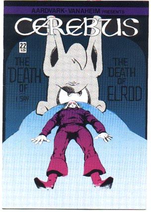 Cerebus #22 comic book nm 9.4