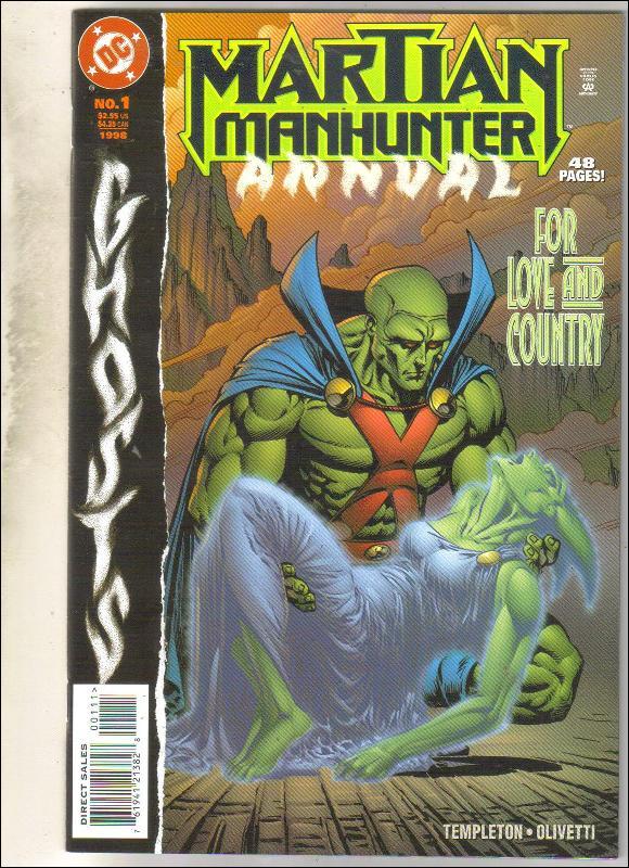 Martian Manhunter annual #8 comic book mint 9.8