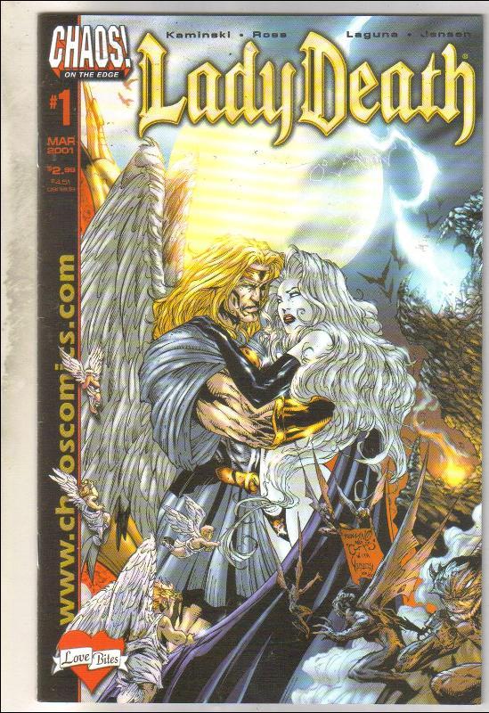 Lady Death #1 comic book very fine/near mint 9.0