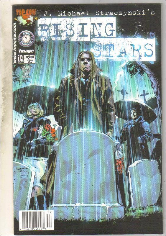 Rising Stars #14 comic book near mint 9.4