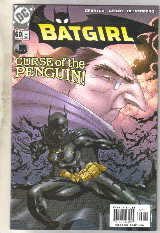 Batgirl #60 comic book mint 9.8
