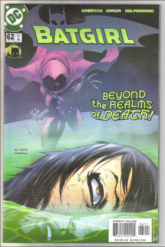 Batgirl #62 comic book mint 9.8