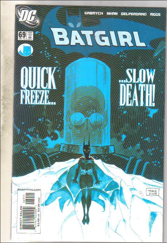 Batgirl #69 comic book near mint 9.4