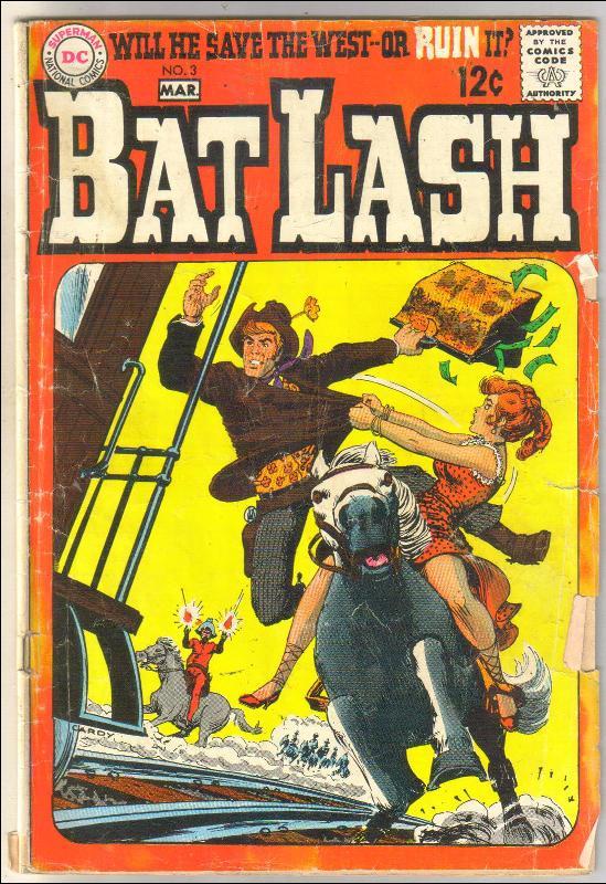 Bat Lash #3 comic book good/very good 3.0