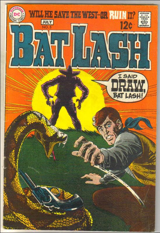 Bat Lash #5 comic book very good/fine 5.0